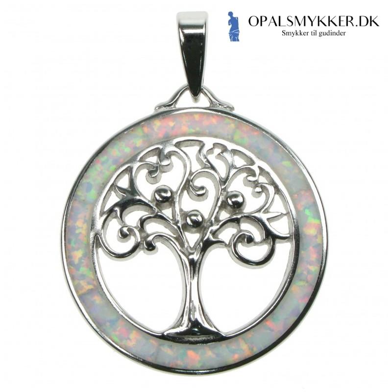 Livets Træ - Sne Opal (Vedhæng)