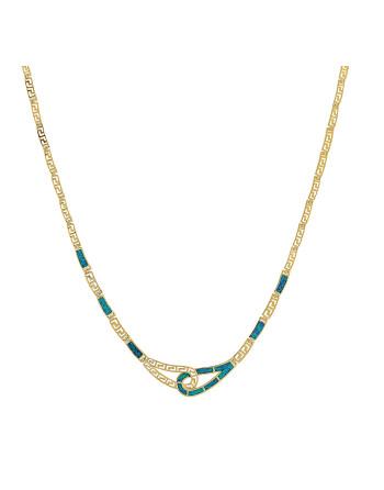 Artemis - Opal halskæde med...