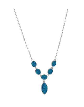 Athena - Opal halskæde med...