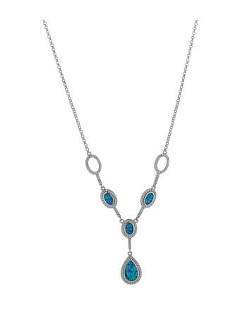 Hebe - Opal halskæde med...