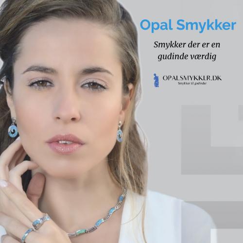 Køb Flotte Opal Smykker & Hûggot smykker Med 925 Sterling sølv og Swarovski® (10) - OpalSmykker.dk
