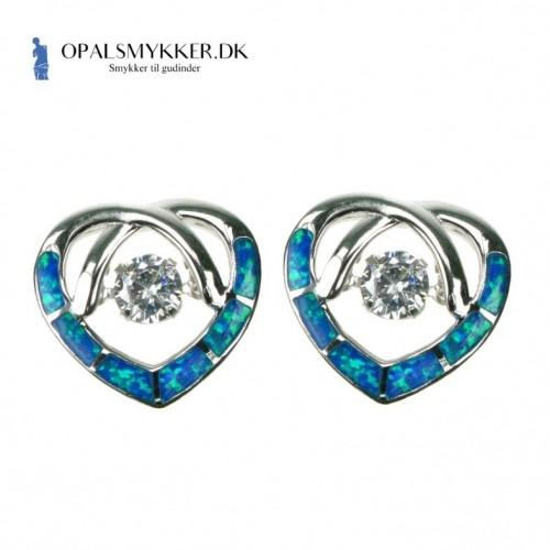Opal øreringe