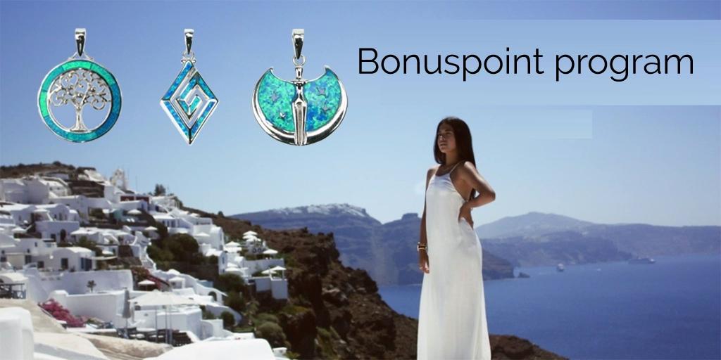 Køb opal smykker med rabat på tilbud online med vors bonuspoint program