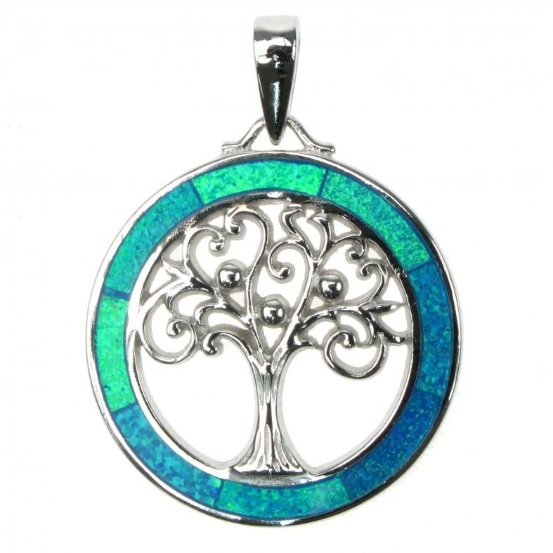 Opal Smykker Med Livets Træ