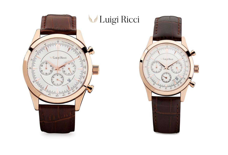 Luigi Ricci ure til mænd og kvinder