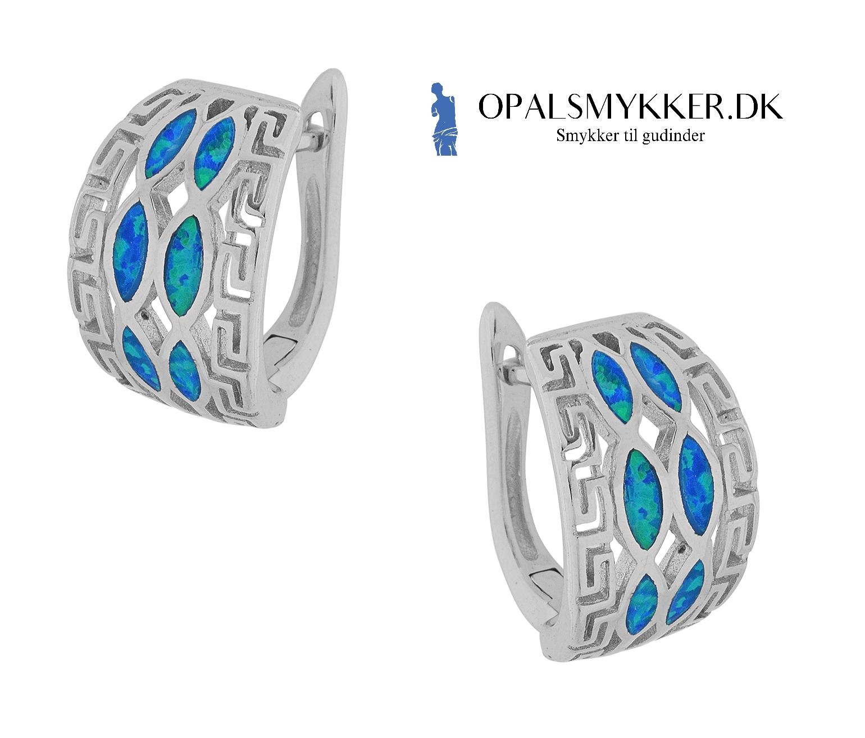Opal smykke med 925 Sterling sølv